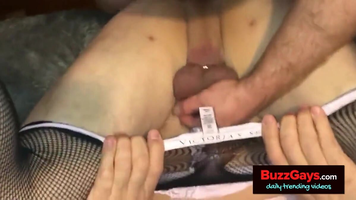 Sissy cuck in chastity gets fucked 4