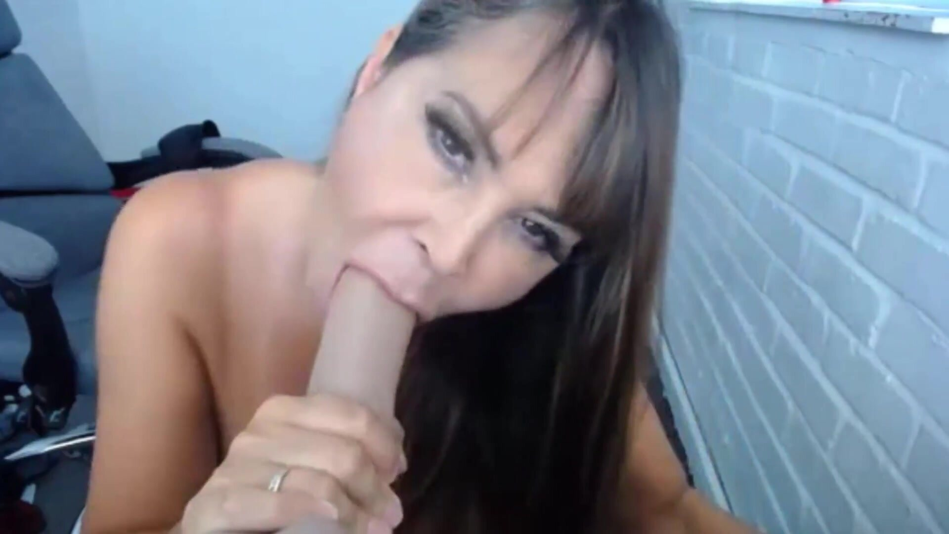 British dirty talking goddess Lolly with immense melons